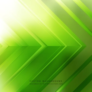 Free Abstract Green Arrow Background Graphic