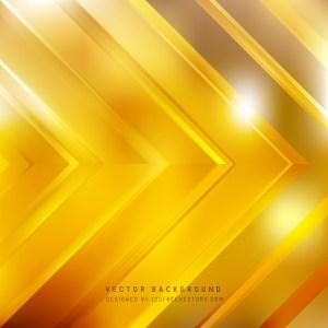 Free Orange Arrow Background Vector