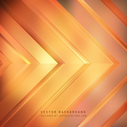 Free Abstract Orange Arrow Background Graphic
