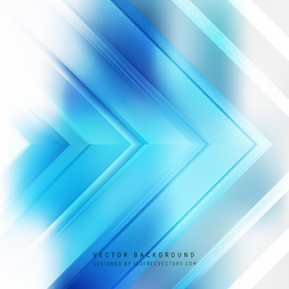 Free Blue and White Arrow Background Image