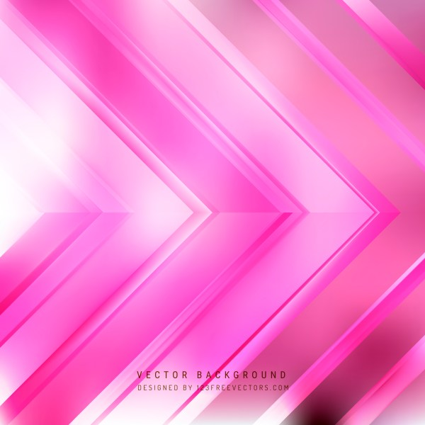 Free Pink and White Arrow Background Vector
