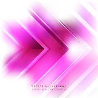 Free Abstract Pink and White Arrow Background Graphic