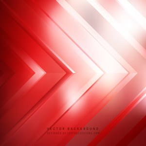 Free Red and White Arrow Background Vector