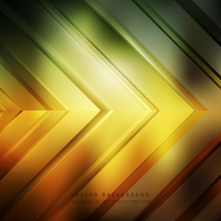 Free Abstract Black Green and Yellow Arrow Background Illustrator