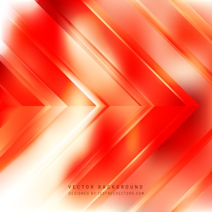 Free Abstract Red Orange and White Arrow Background Graphic