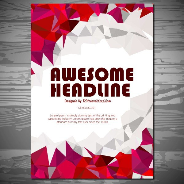 Free Flyer Brochure Design Vector