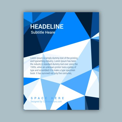 Free Business Brochure Template Vector