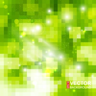 Free Green Abstract Background Vector Image