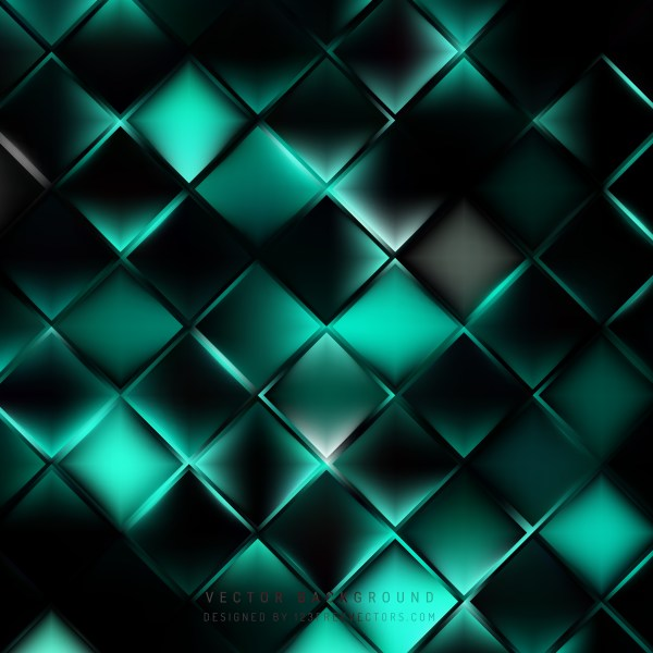 Free Abstract Black and Turquoise Background Design