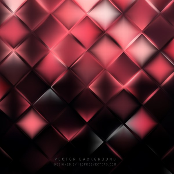 Free Pink and Black Abstract Background Vector Illustration
