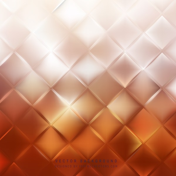 Free Orange and White Abstract Background Illustration