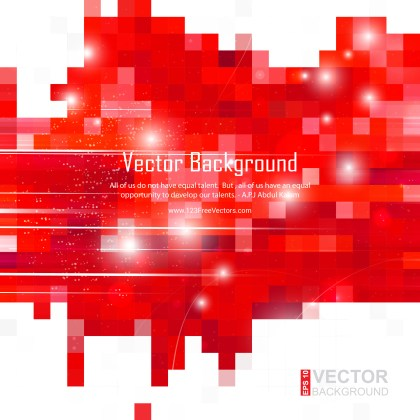 Free Abstract Red and White Background Design