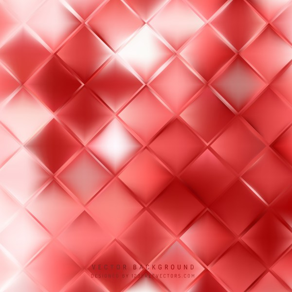 Free Red and White Abstract Background Image