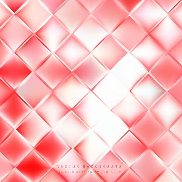 Free Abstract Red and White Background Vector Graphic