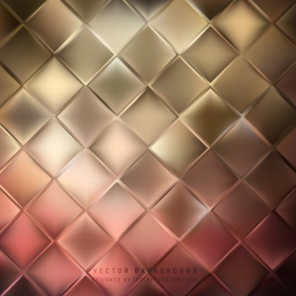 Free Red and Brown Abstract Background Vector Illustration