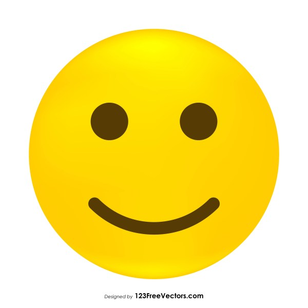 Slightly Smiley Face Image