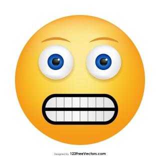 Grimacing Face Emoji Graphics