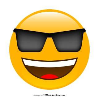 Cool Face Emoji