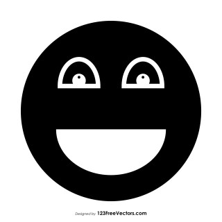 Black Smiley Face