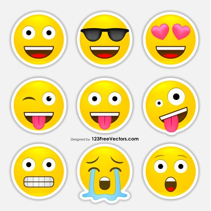 Free Emoji Stickers