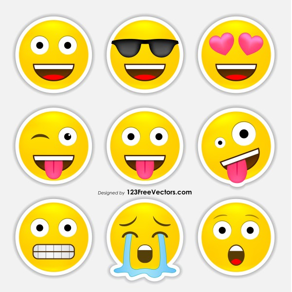 Free Emoji Stickers