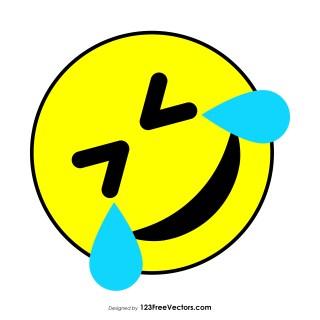 Rolling on The Floor Laughing Emoji