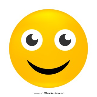 Grinning Face Emoji Clipart