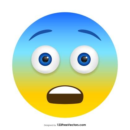 Fearful Face Emoji