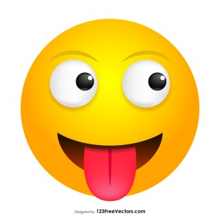 Tongue Smiley Clipart