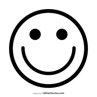 Smily Emoji Outline