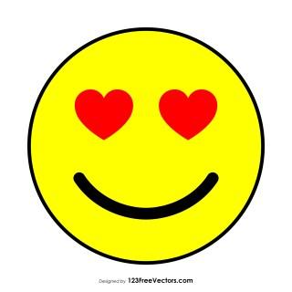 Heart Emoji Vector