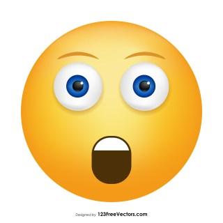 Astonished Face Emoji Icons