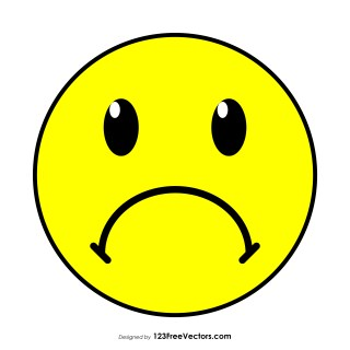 Frowning Face Emoji Clipart