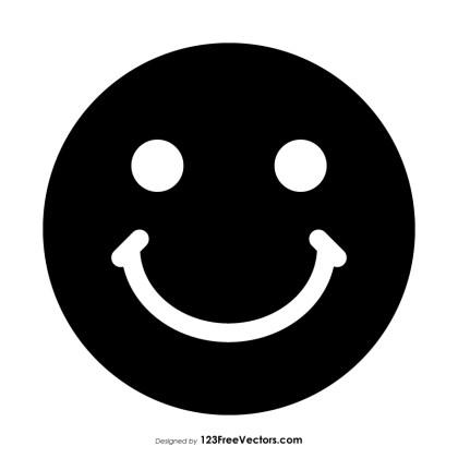 Black Smiley Emoticons
