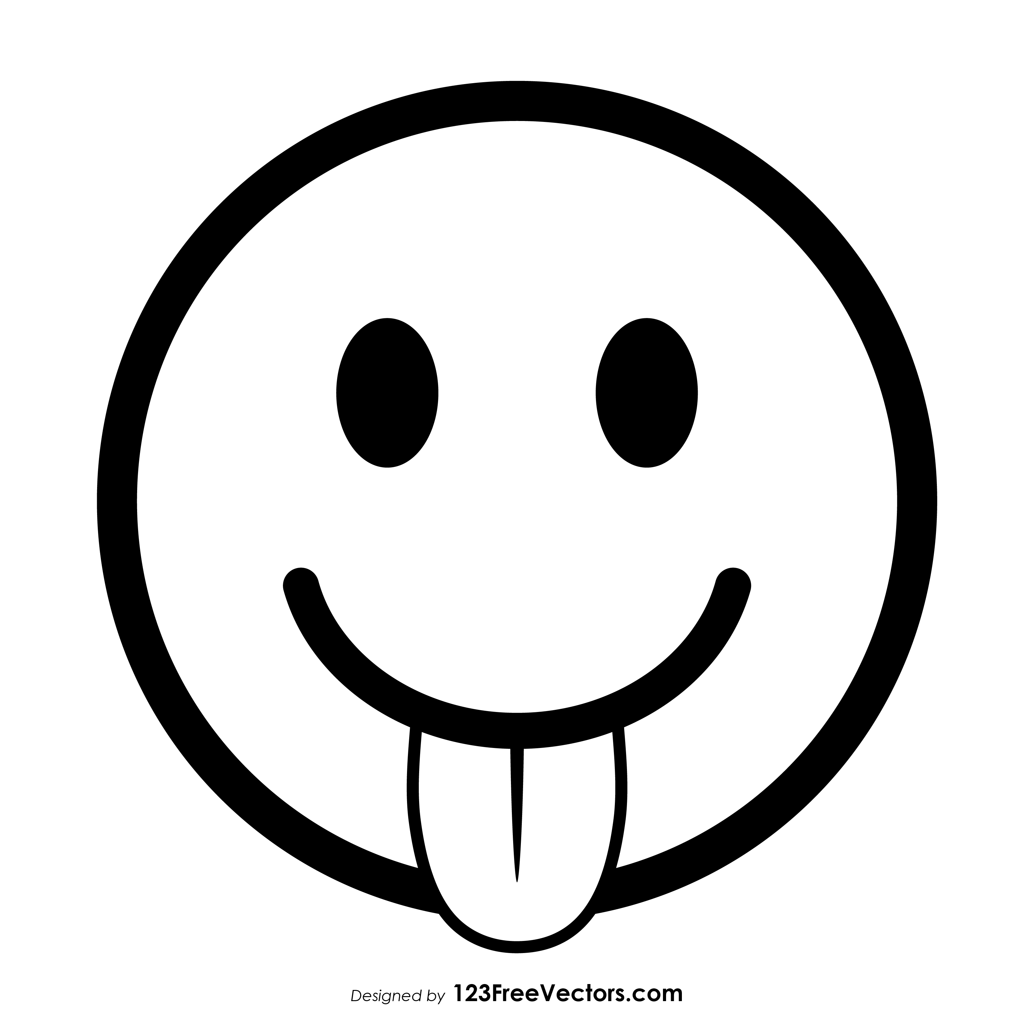 face with stuck out tongue and tightly closed eyes emoji clipart Exercise Emoji Clip Art face with tongue emoji outline vector free face savoring food emoji clipart