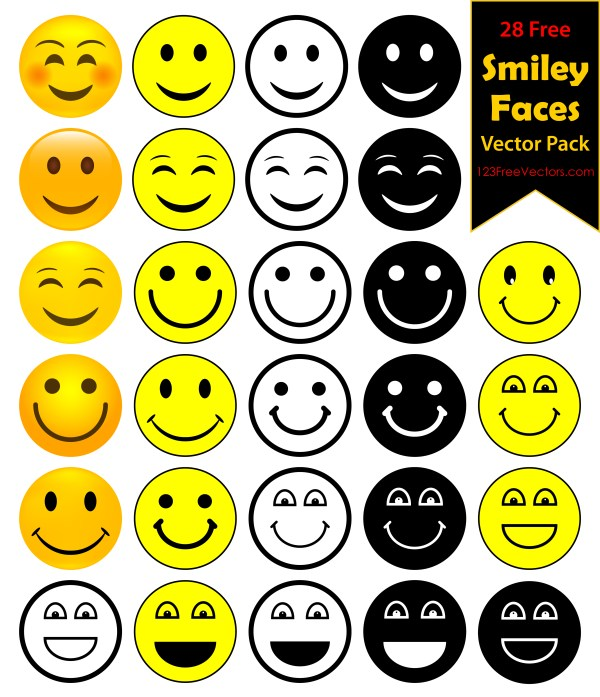 28 Smiley Pack Free Download