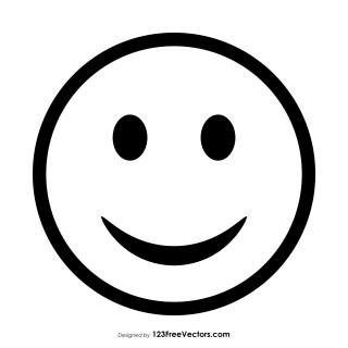 Smiley Emoticons Outline