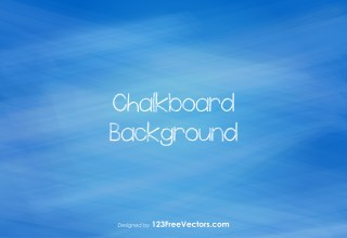 Blue Chalkboard Background