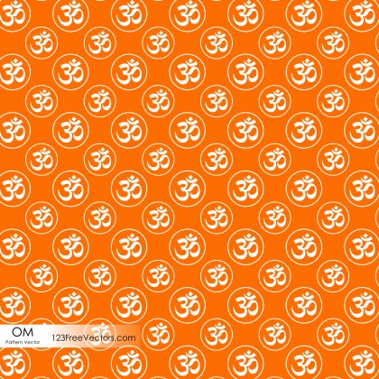 Ohm Sign Pattern Background Vector
