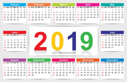 Download Calendar 2019