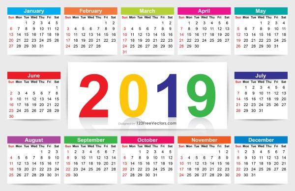 Download Calendar 2019
