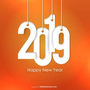 New Year Background 2019