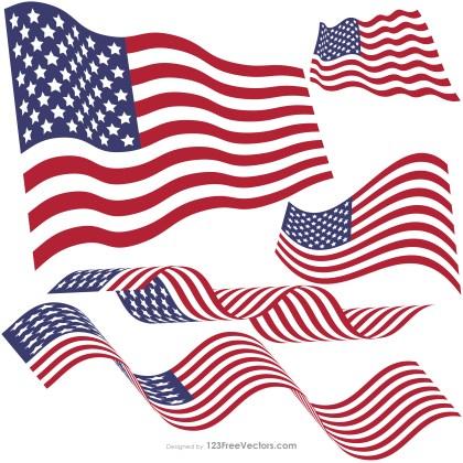 Waving American Flag Images
