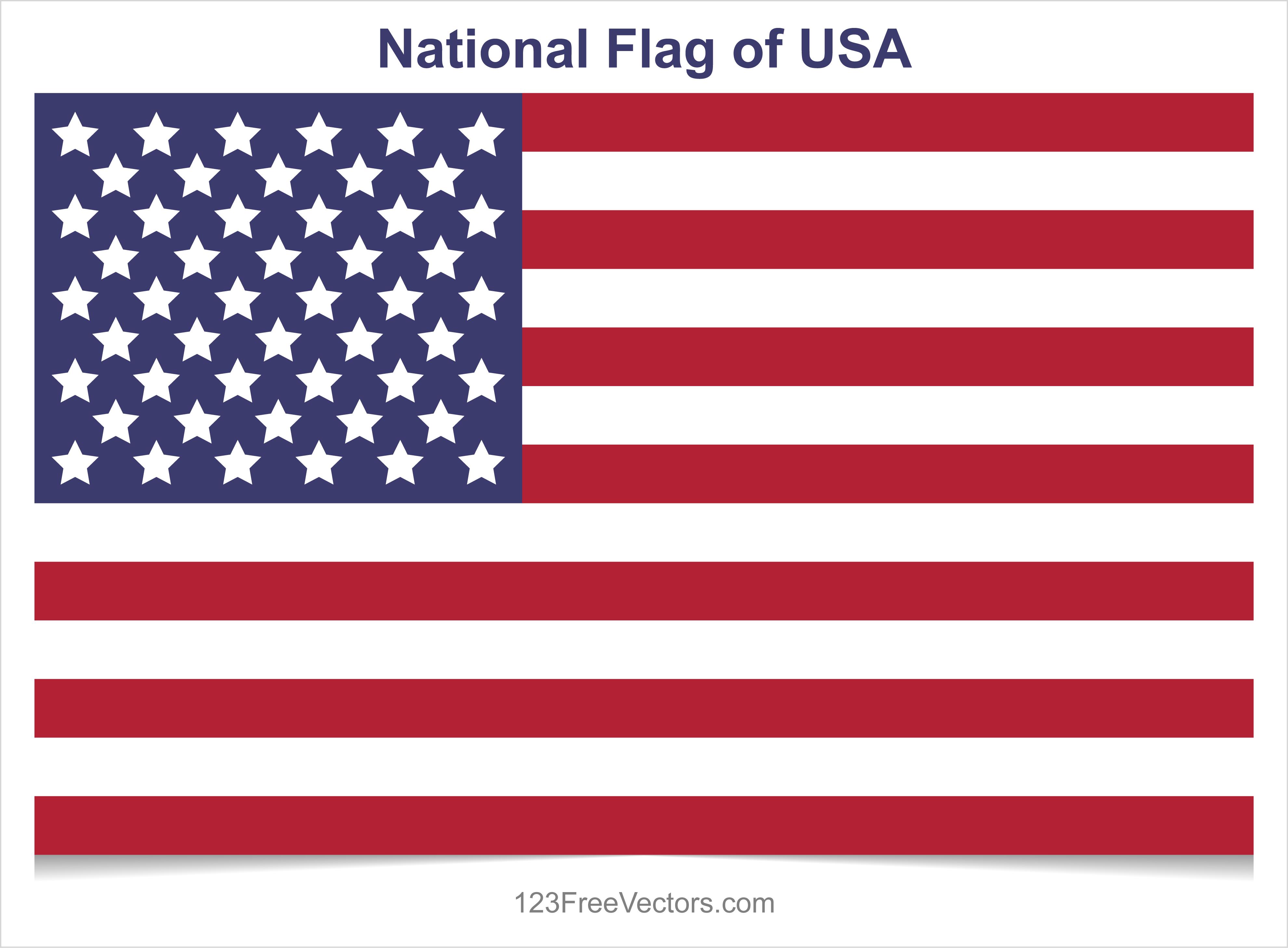 usa flags free vector graphics