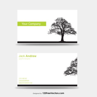 Tree Business Card