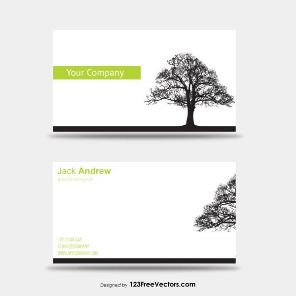 Tree Business Card