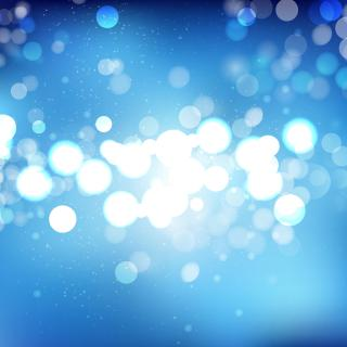 Blue Blurred Lights Background