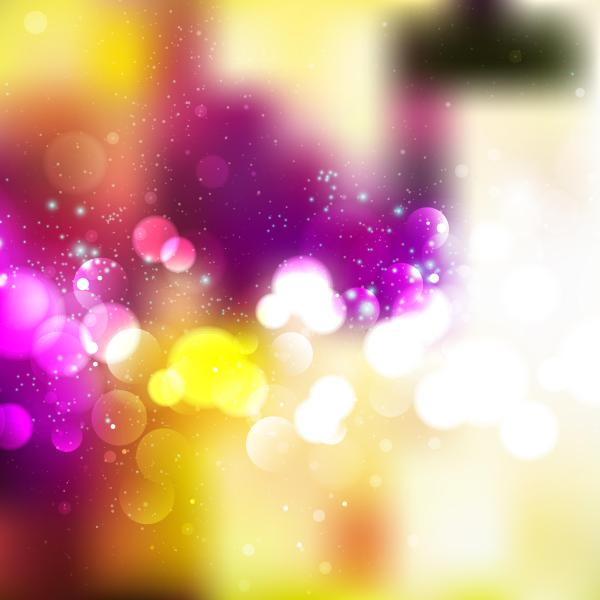 Abstract Colorful Bokeh Free Download