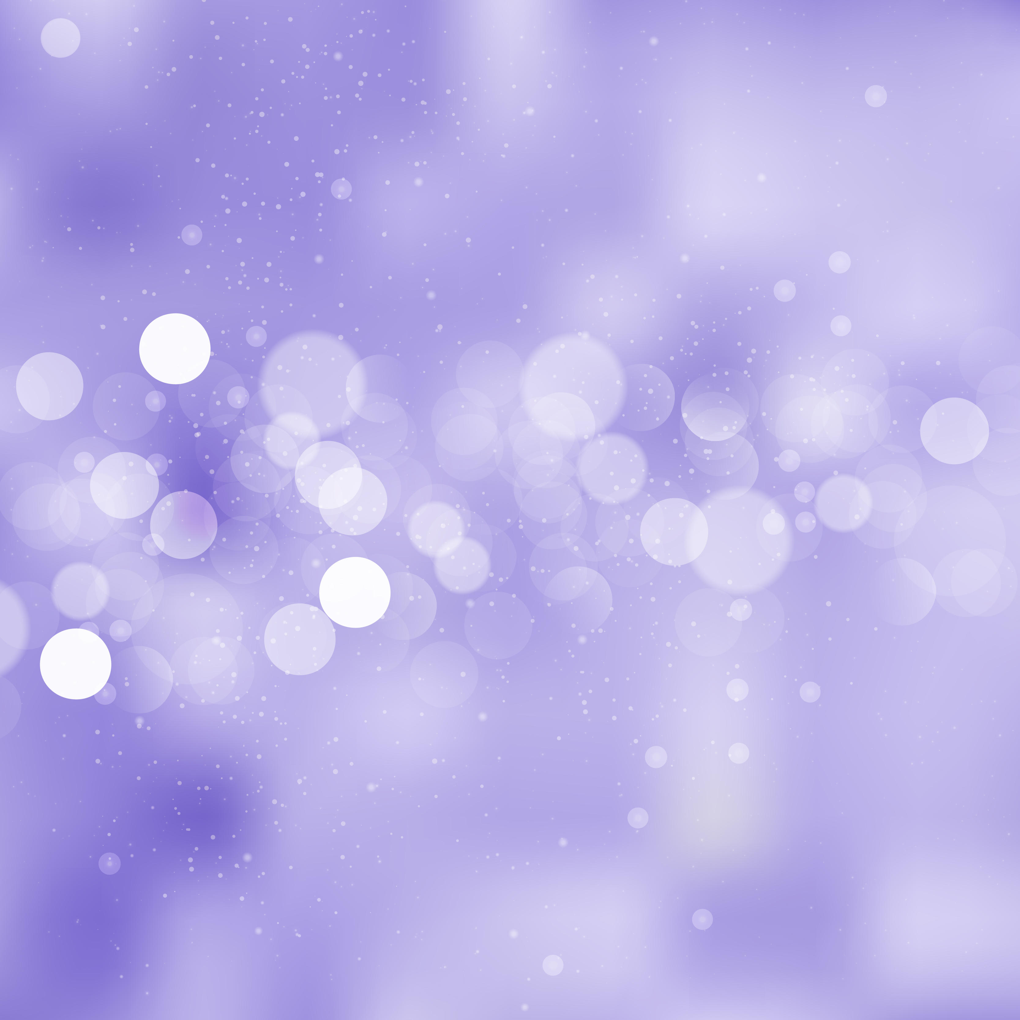Abstract Light Purple Bokeh Wallpaper