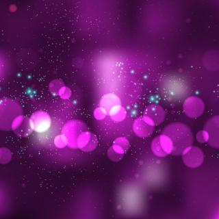 Dark Purple Bokeh Lights Background